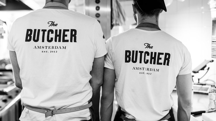 Rihanna bij The Butcher